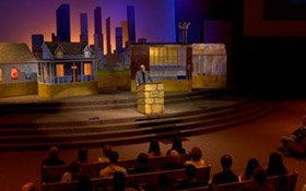 Ken Ham on't stage
