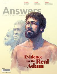 Answers magazine cover