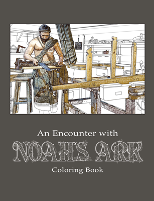 Noah's Ark Colouring Book