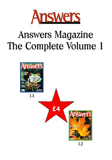Answers Magazine Vol 1 Pack (2 issues)