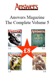 Answers Magazine Vol 5 Pack