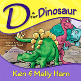 D is for Dinosaur: Hardcover