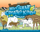 My Giant Created Kinds Colouring Book
