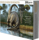 Puzzle - Behold Now Behemoth (500 pieces)