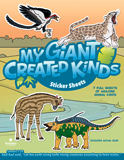 My Giant Created Kinds Sticker Sheets