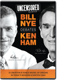 Uncensored Science: Bill Nye Debates Ken Ham (4 DVDs)