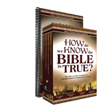 How Do We Know The Bible Is True? (4-DVD Box Set & Workbook)