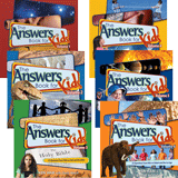 Answers Books for Kids (SET of 6 Books)