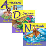 Ken Ham Rhyming Books Set