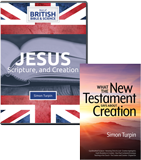 Jesus, Scripture, and Creation Combo