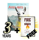 Answers Magazine: 3 years new subscription or renewal