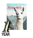 Answers Magazine: 1 year new subscription or renewal