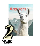 Answers Magazine: 2 years GIFT subscription