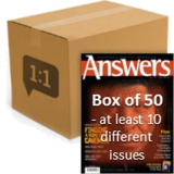 Answers Magazine Outreach Box (50 magazines)